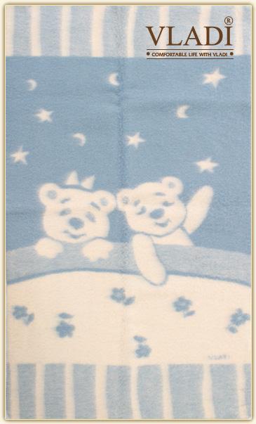 Одеяло жаккардовое детское